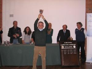 Carlo De Regibus, vincitore di due edizioni della Coppa dei Campioni (2011-2012)