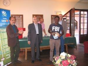 Hannibal Ghirmay Saviane, vincitore in terza categoria con 40 punti.