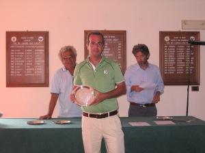 Luigi Maddalena, vincitore in seconda.